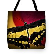 Giant Swallowtail Butterfly Tote Bag by Elena Elisseeva