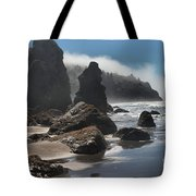 Giants Of Trinidad Tote Bag by Adam Jewell