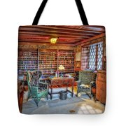 Gillette Castle Library Tote Bag by Susan Candelario