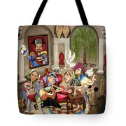 Gina's Journey Tote Bag by Anthony Falbo