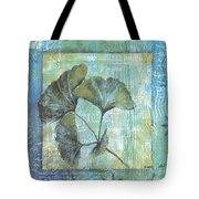 Gingko Spa 2 Tote Bag by Debbie DeWitt