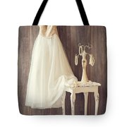 Girl's Bedroom Tote Bag by Amanda Elwell