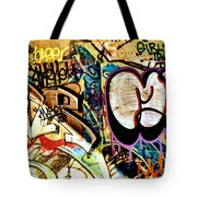 Girls Tag Two Tote Bag by Trever Miller