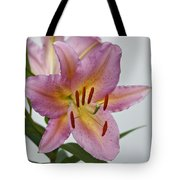 Girosa Lily Tote Bag by Sandy Keeton
