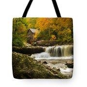 Glade Creek Grist Mill Tote Bag by Shane Holsclaw
