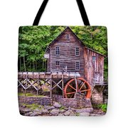 Glade Creek Grist Mill Tote Bag by Steve Harrington