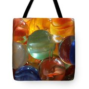 Glass In Glass 3 Tote Bag by Mary Bedy