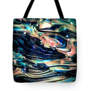 Glass Macro Abstract Rpoce Tote Bag by David Patterson