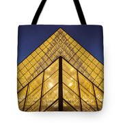 Glass Pyramid Tote Bag by Brian Jannsen