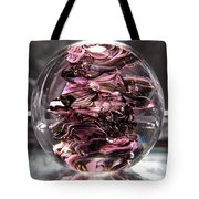 Glass Sculpture Black And Pink Rbp Tote Bag by David Patterson