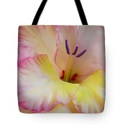 Glorious Gladiola Flower Tote Bag by Jennie Marie Schell