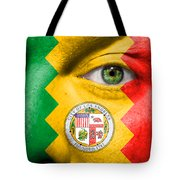 Go Los Angeles Tote Bag by Semmick Photo