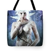 Goddess Of Water Tote Bag by Michael  Volpicelli