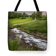 Goin With The Flow Tote Bag by Bill  Wakeley
