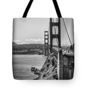 Going To San Francisco Tote Bag by Heather Applegate