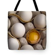Gold And Eggs Tote Bag by J L Woody Wooden