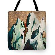 Gold Mountain Tote Bag by Joseph Demaree
