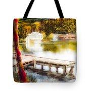 Golden Afternoon Tote Bag by Kip DeVore