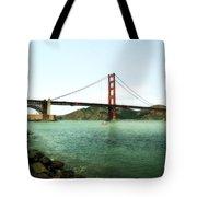 Golden Gate Bridge 2.0 Tote Bag by Michelle Calkins