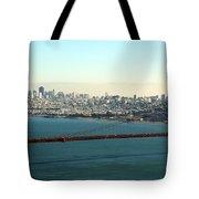Golden Gate Bridge Tote Bag by Linda Woods