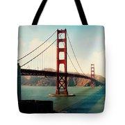 Golden Gate Bridge Tote Bag by Sylvia Cook