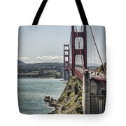Golden Gate Tote Bag by Heather Applegate