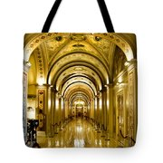 Golden Government Tote Bag by Greg Fortier