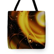 Golden Halo Tote Bag by Anastasiya Malakhova
