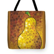 Golden Pear Tote Bag by Sharon Cummings