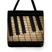 Golden Pianoforte Classic Tote Bag by John Stephens