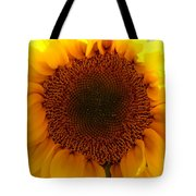 Golden Ratio Sunflower Tote Bag by Kerri Mortenson