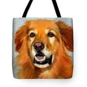 Golden Retriever Dog Tote Bag by Alice Leggett