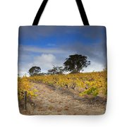 Golden Vines Tote Bag by Mike  Dawson