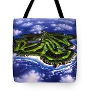 Golfer's Paradise Tote Bag by Jerry LoFaro