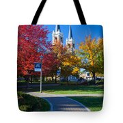 Gonzaga Pathway Tote Bag by Inge Johnsson