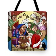 Good And Faithful Servant Tote Bag by Anthony Falbo