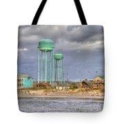 Good Morning Topsail Island Tote Bag by Betsy C Knapp