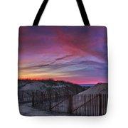 Good Night Cape Cod Tote Bag by Susan Candelario