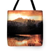 Goose On Golden Ponds 1 Tote Bag by James BO  Insogna