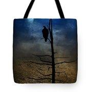 Gothic Landscape Tote Bag by Andrea Kollo