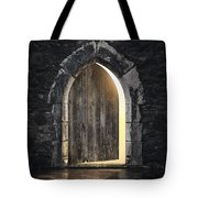 Gothic Light Tote Bag by Carlos Caetano