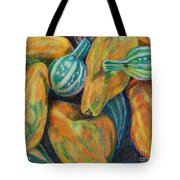 Gourds For Sale Tote Bag by Janet Felts