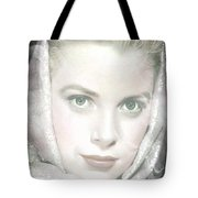 Grace Kelly Tote Bag by M and L Creations