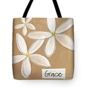 Grace Tote Bag by Linda Woods