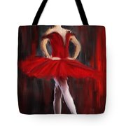 Graceful Stand Tote Bag by Lourry Legarde