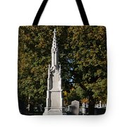 Graceland Cemetery - Garden Of The Dead Tote Bag by Christine Till