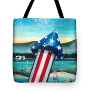 Grand Finale Tote Bag by Shana Rowe Jackson