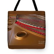 Grand Piano Tote Bag by Ann Horn