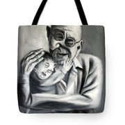Grandpa Tote Bag by Anthony Falbo