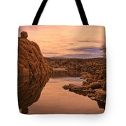 Granite Dells Tote Bag by Priscilla Burgers